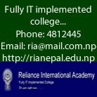 Reliance College : Top college in Nepal